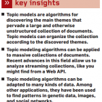 insights topic modeling