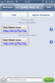 Get Maid Mobile App Distribution via SMS