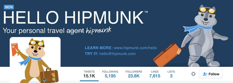 HIpmunk on Twitter
