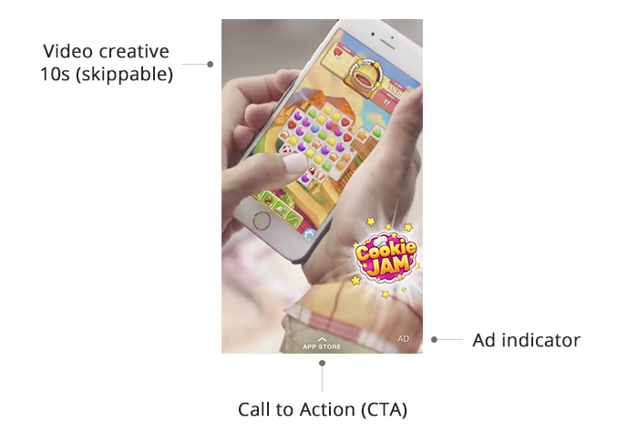 Anatomy of a Snap video ad for app installs